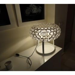 Lámpara de diseño ITALICA-M acrílica de sobremesa