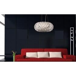 Lámpara ITALICA-C-TR colgante de diseño acrilica transparente