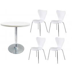 Conjunto mesa + 4 sillas JACOB