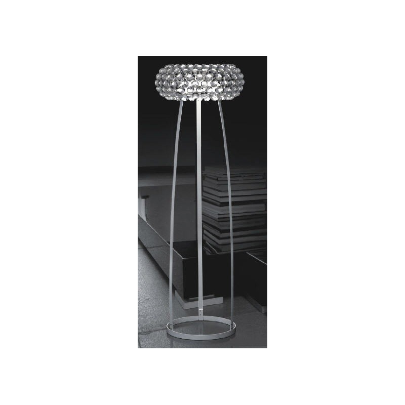 Lámpara de diseño ITALICA-P acrílica de pie