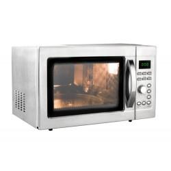 Horno microondas lacor con plato giratorio y grill de 31 Lts
