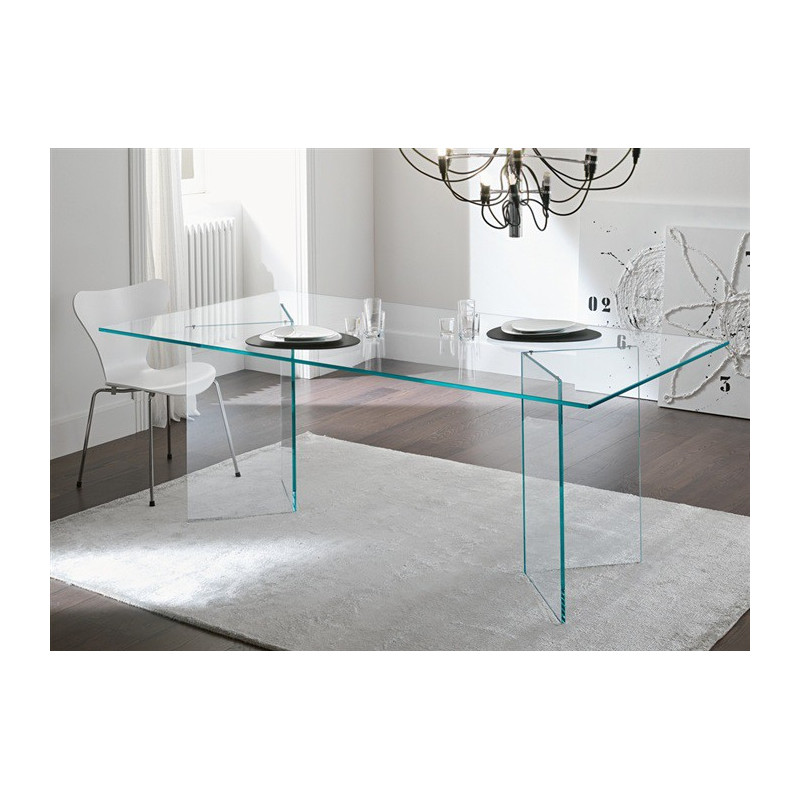 mesa de cristal otish tr 180 x 90 cms