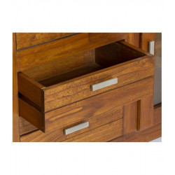 Aparador de estilo colonial en madera de Mindi