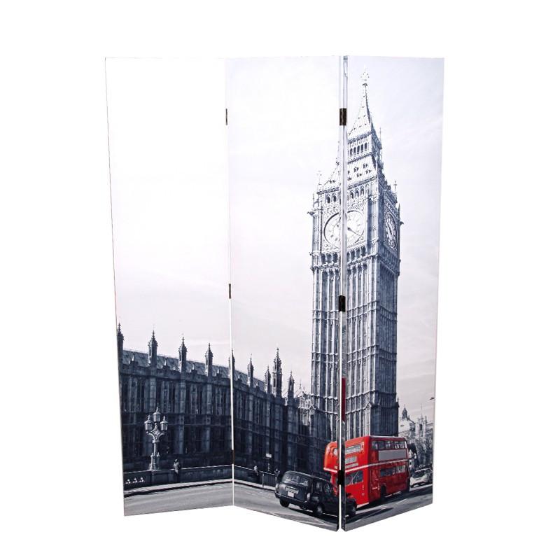 Biombo London City - Paris Eiffel