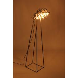 Lámpara 9 focos ESTADIO  de estilo industrial