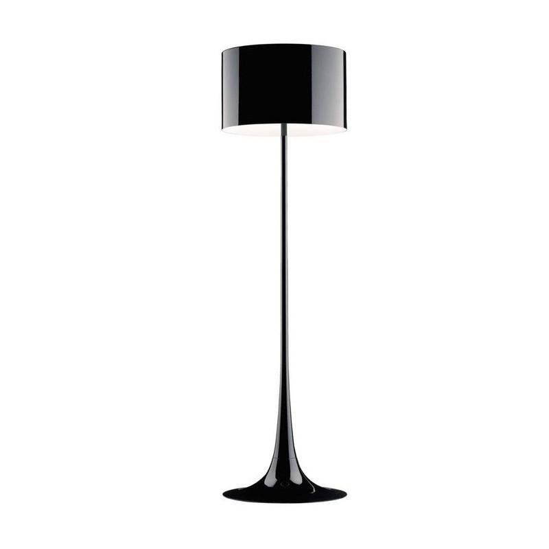 Lámpara de pie salón lugano color negro