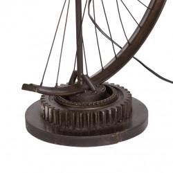 lampara  de pie / sobremesa  bicicleta antigua