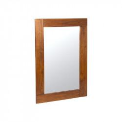 Espejo de pared en Madera de Mindi 120x80