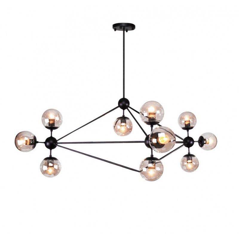 Lámpara de diseño estilo chandelier MENCIA 10 luces