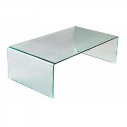 Mesa Klug de cristal curvado de 10 mm