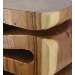 Mesa diseño espiral de una pieza