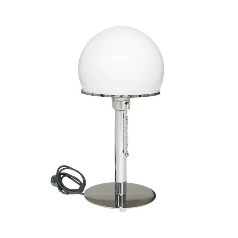 Lámpara Wenfeld base cromada