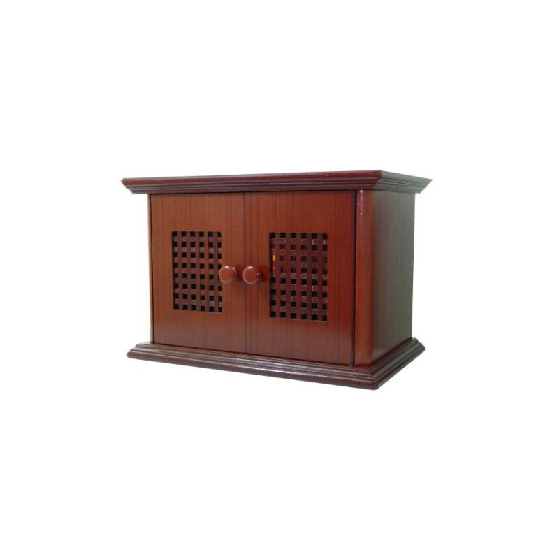 Radio de estilo antiguo con puertas de madera for Puertas de madera estilo antiguo