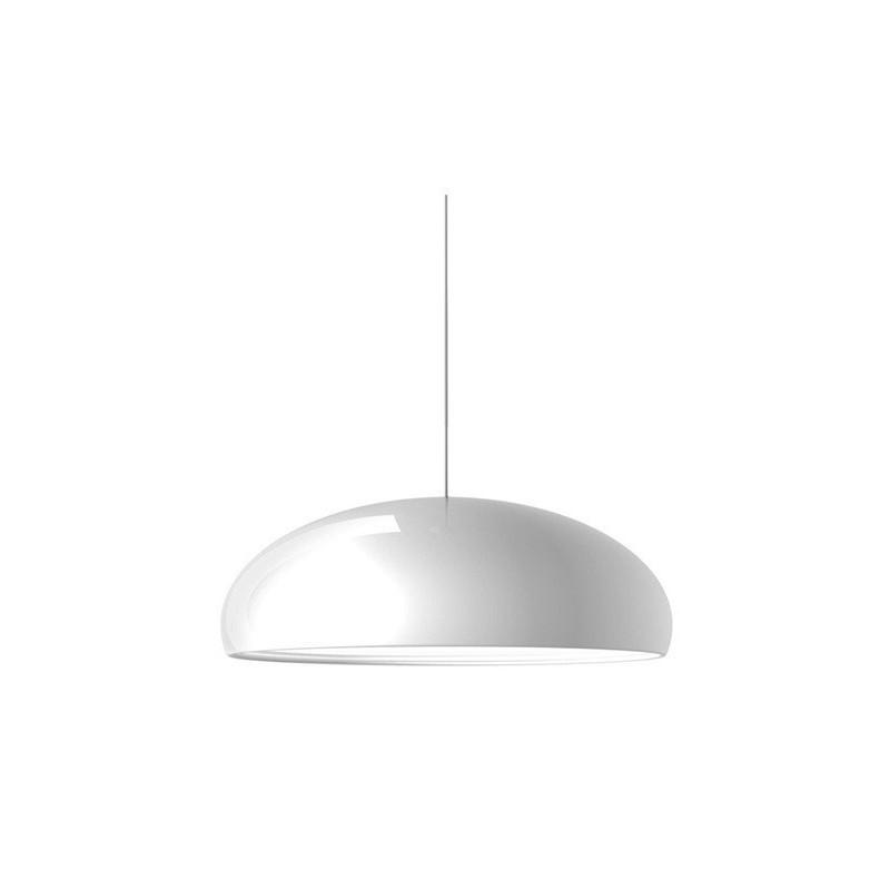 Lámpara colgante estilo Pangen aluminio blanco 60 cm