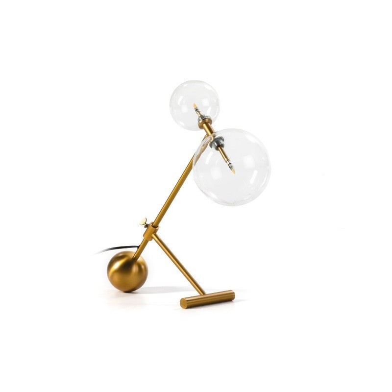 Lámpara TRENDY de sobremesa  color dorado