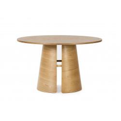 Cep mesa redonda comedor roble natural de estilo nórdico