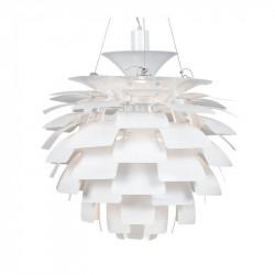 Lámpara ARTIC fabricada en aluminio de color blanco