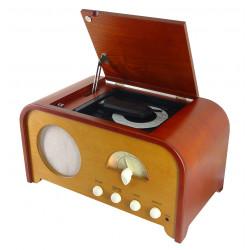 Centro de música nostalgia con Radio y CD