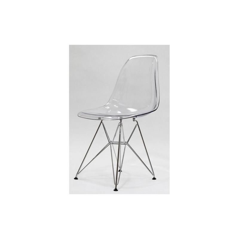 Silla tower fabricada en policarbonato transparente - Sillas en policarbonato ...