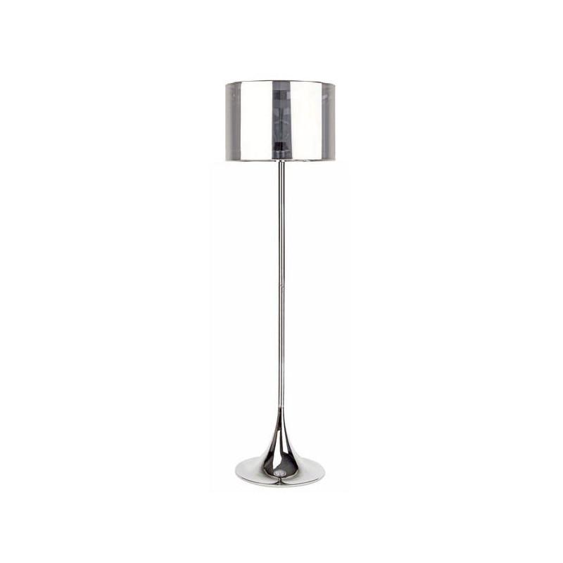 Lámpara de pie PLUS-P cromada