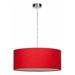 Lámpara colgante AMAIA-T con pantalla roja