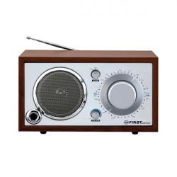 Radio tipo retro portatil en color crema
