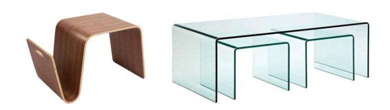 Mesas de centro de estilo moderno