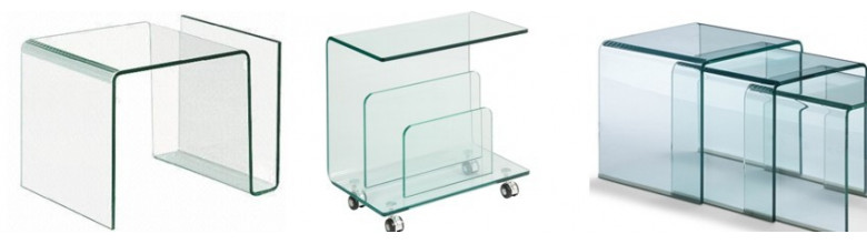 Muebles de cristal templado 100%  Cristal