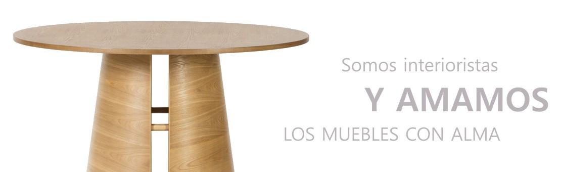 Mesa cep de diseño estilo nórdico